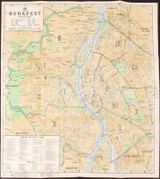 budapest térkép 1930 cca 1930 Budapest térkép 2 oldalas, külön a templomokról. Szép  budapest térkép 1930