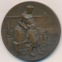 1908.  A Körmöczbányai Magyar Királyi Pénzverde Látogatásának Emlékére  Br  emlékérem (36mm). a084f6d9bd