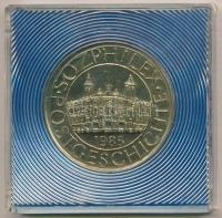 NDK 1985.  SOZPHILEX  fém emlékérem eredeti tokban (38mm) T 1 GFR 1985.   SOZPHILEX  metal medal in. 8c0f8ee1b0